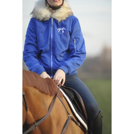 Le French Blouson - Hiver - Bleu roi