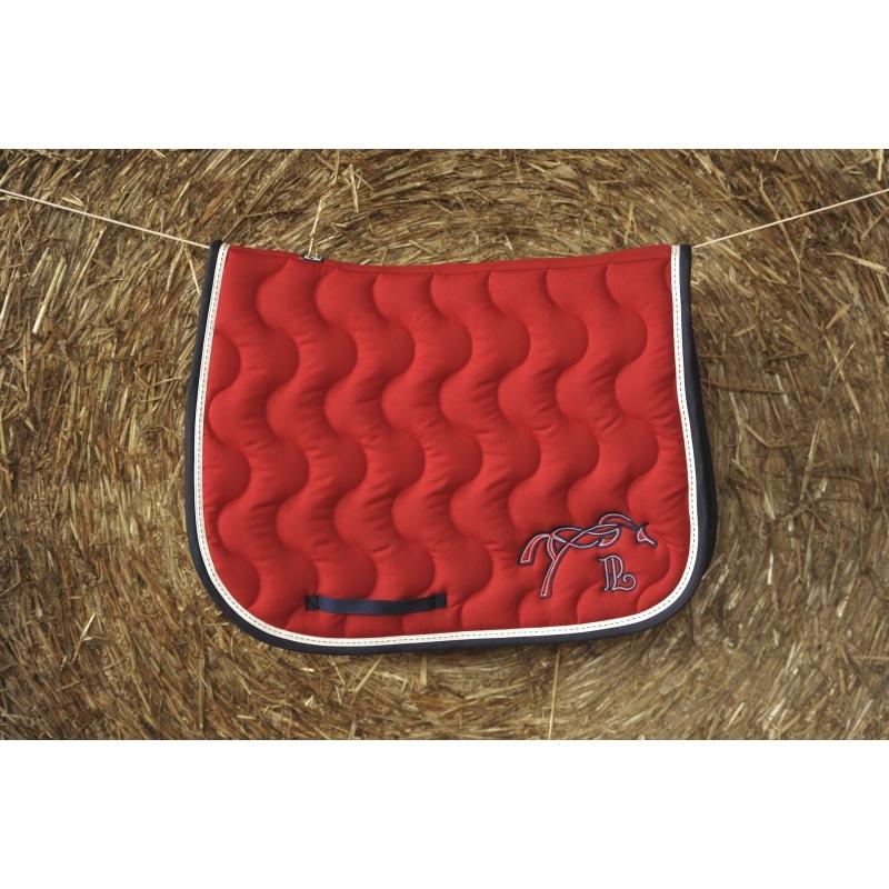 tapis pnlope rouge marine - Tapis Penelope Leprevost