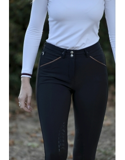 Breeches - black/ caramel...