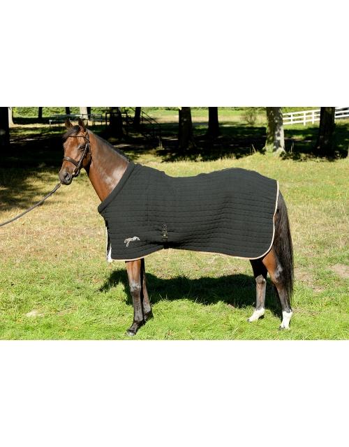 chemise séchante en bambou dry noire Pénélope