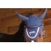 Point Sellier Fly veil - Navy & cream