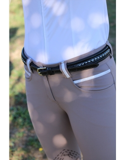 Ceinture Point Sellier - Noir