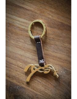 Tibou keychain - Golden havana