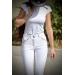 pantalon d'équitation point sellier blanc Pénélope store