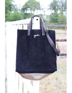 Pépite tote bag - Black & gold