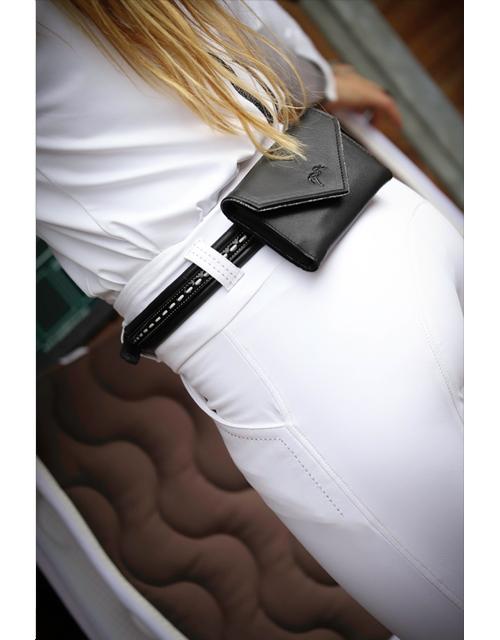 Pénélope phone pocket - Black