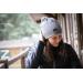 Nouki Knitted hat - Grey