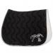 Point sellier Land Rover x Pénélope saddle pad - Black & white
