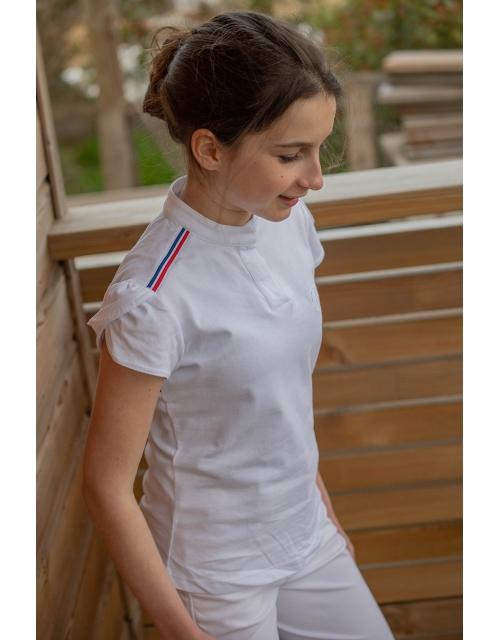 Polo Lollyshow blanc - Junior