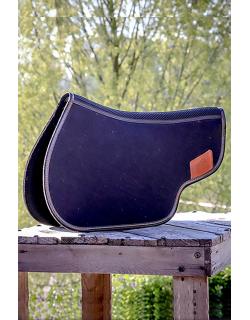 Back pad with felt - Black