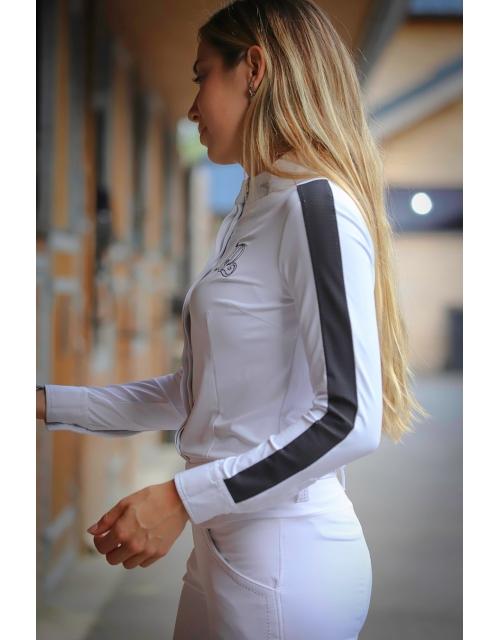 Chemise de concours Showshirt Blanc Pénélope-store
