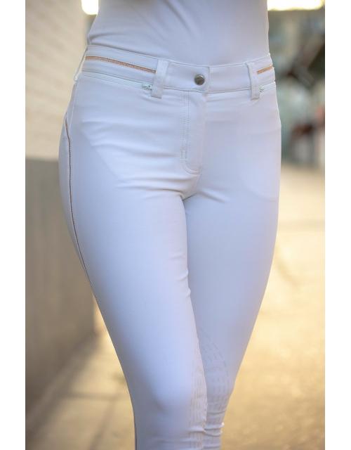 Streety Breeches - White