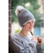 Chiky knitted hat Grey Pénélope-store