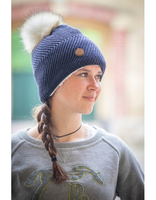 Chiky knitted hat Navy Pénélope-Store