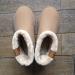 boots type ugg beige