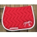 Tapis de selle point sellier - Rouge